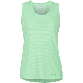 Marmot Aero Sleeveless Shirt Women green